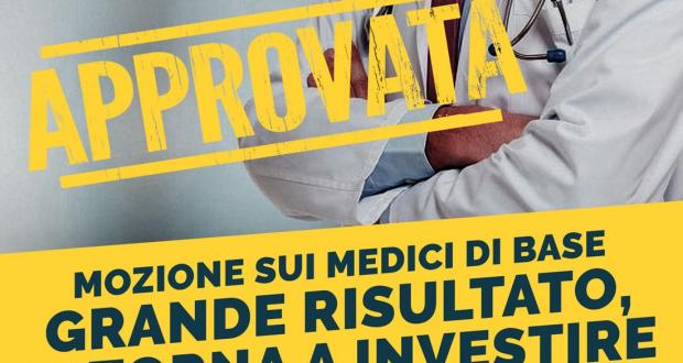 Carenza di medici, sì alla mozione: Grande risultato, si torna a investire per la salute dei cittadini