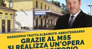 Il raddoppio dei binari tra Albairate e Abbiategrasso si farà entro il 2026.