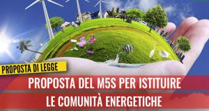 """PROGETTO DI LEGGE: """"Promozione e sviluppo delle Comunità energetiche sul territorio regionale"""""""