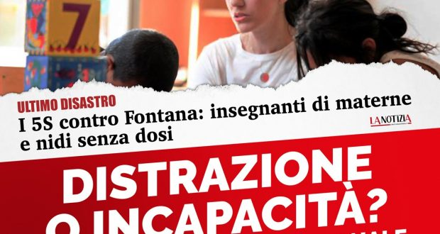 Vaccini: Regione Lombardia non dimentichi gli asili