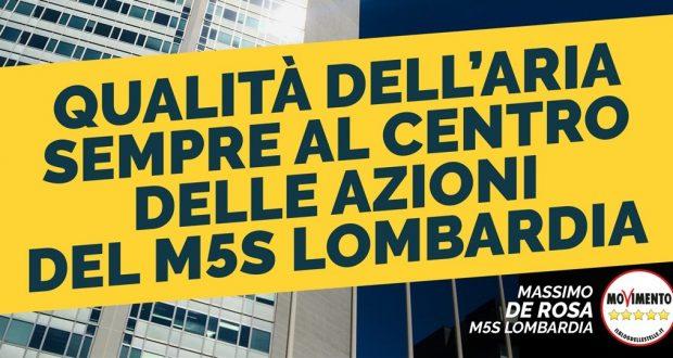 La qualità dell'aria al centro del lavoro del M5S Lombardia