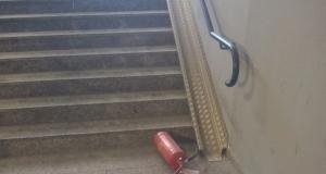 Vandalismi stazione di Cassano d'Adda la risposta di Trenord