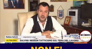 Per Salvini lavorare per 600 euro al mese non è sfruttamento. Non sa di cosa parla. Vive di politica dal 1993